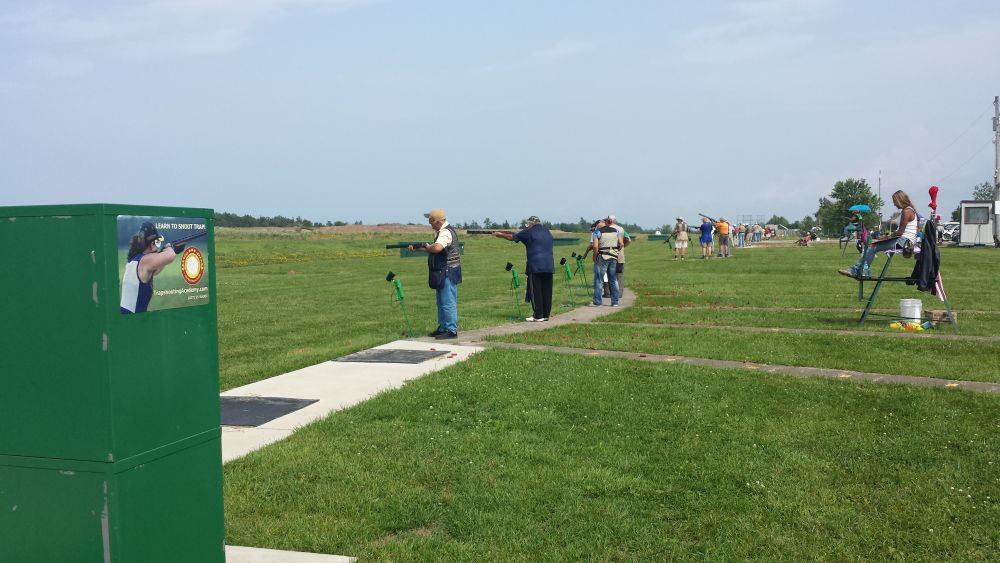 The Trapshooting Range during OPTA Championship